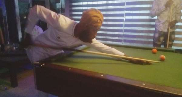 Saha Wins Echo Spring Maiden Snooker Competition